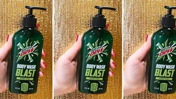 image for Mountain Dew Body Wash Smells Exactly Like the Soda