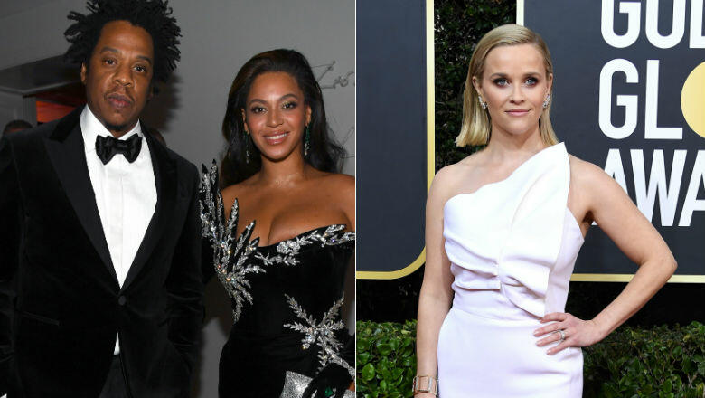 Beyoncé & JAY-Z Send Reese Witherspoon Champagne After Funny Golden Globes Moment!