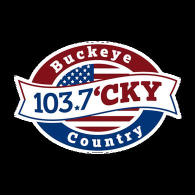 Buckeye Country 103.7 logo