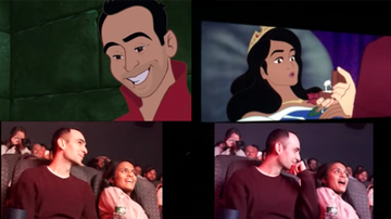 Weird News - Man Animates Himself, GF Into 'Sleeping Beauty' For Most Epic Proposal Ever