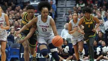 image for UConn Women's 98 Game Home win streak snapped by Baylor 74-58