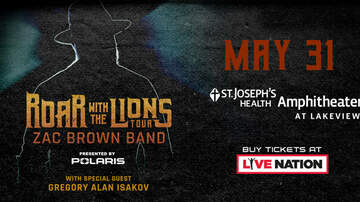 Contest Rules - Win tickets to Zac Brown Band At St. Joseph's Health Amphitheater!