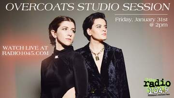 None - Overcoats Studio Session - Friday, January 31st @ 2pm