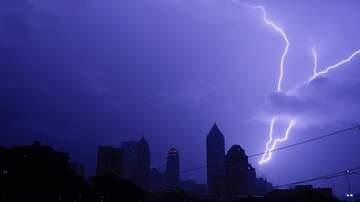 image for Lightning Strikes Passenger Plane