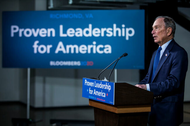 Bloomberg Kicks Off Campaign In Texas
