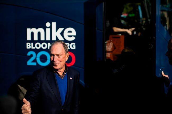US-VOTE-ELECTION-BLOOMBERG-POLITICS