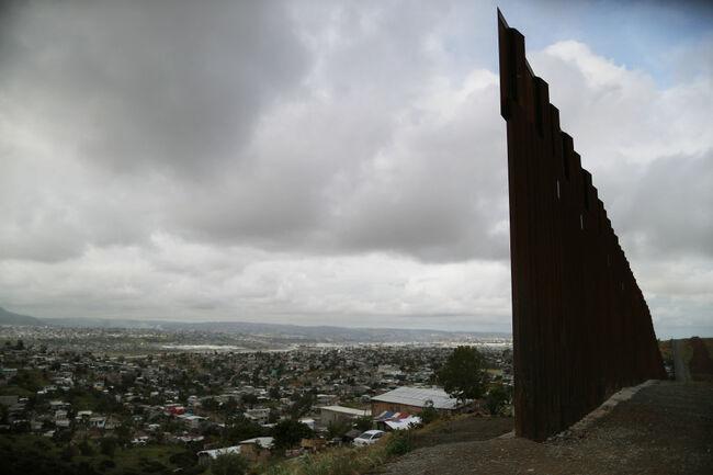 Border Patrol Monitors US-Mexico Border As Surge Of Migrants Strains Resources