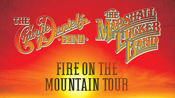 None - The Charlie Daniels Band and The Marshall Tucker Band