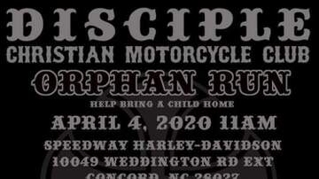image for Disciple Christian Motorcycle Club Orphan Run