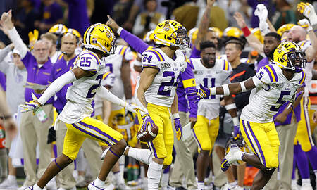 Sports Top Stories - LSU Defeats Clemson To Win 2020 NCAA National Championship