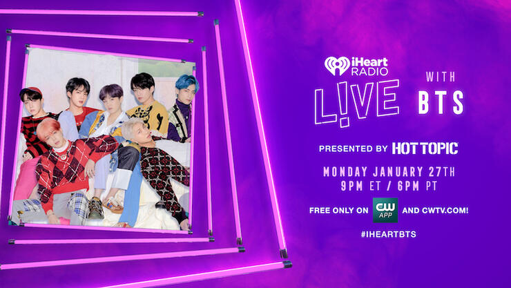 iHeartRadio LIVE with BTS