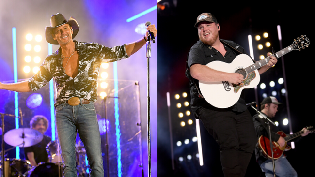 Luke Combs Will Join Tim McGraw To Play Historic Stadium Show Together
