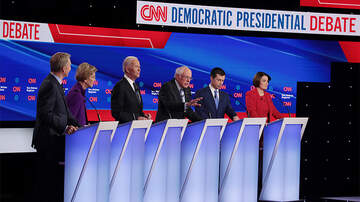 Politics - Democrats Face Off In Final Debate Before Primary Voting Begins
