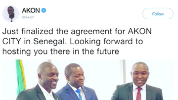 Chuck Dizzle - Akon Is Building A Real-Life Wakanda In Africa Called Akon City