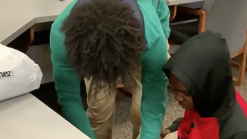 Chuck Dizzle - Student Gifts Classmate Some New Clothes After Being Bullied In School