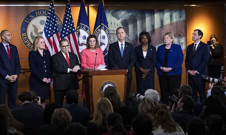 Politics - Nancy Pelosi Names Managers Who Will Prosecute Impeachment Case