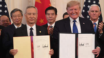 Politics - President Trump Signs Phase One Of Trade Deal With China