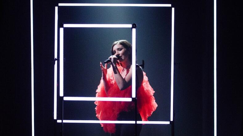SHAED's 'Trampoline' Performance Is A Neon Dream On 'The Late Late Show'