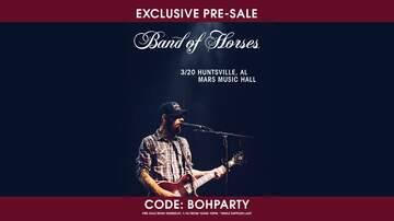 None - Band of Horses | Pre-sale | Mars Music Hall