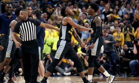 Wisconsin Sports - Marquette races past Xavier 85-65