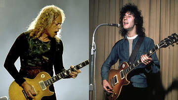 Rock News - Kirk Hammett And Fleetwood Mac Co-Founder Peter Green Are Collaborating
