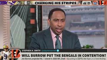 Lance McAlister - Stephen A. says Bengals could sully, stain and potentially ruin Joe Burrow