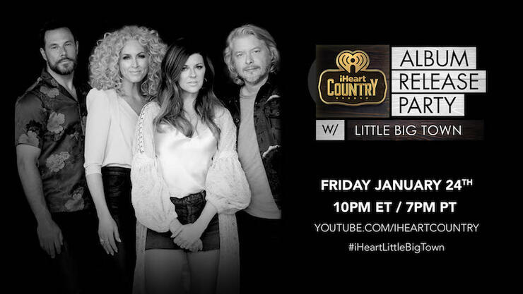 Little Big Town to Celebrate 'Nightfall' During Album Release Party | iHeartRadio