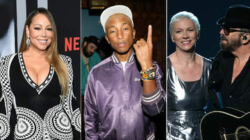 Trending - Mariah Carey, Pharrell, Eurythmics & More Joining Songwriters Hall Of Fame
