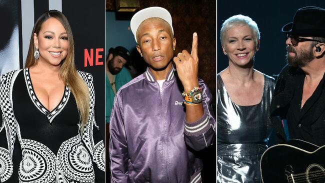 Mariah Carey, Pharrell, Eurythmics & More Joining Songwriters Hall Of Fame
