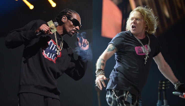 Snoop Dogg Will Open For Guns N' Roses At Super Bowl Music Fest | iHeartRadio