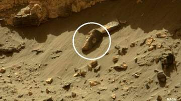 Coast to Coast AM with George Noory - 'Statue Head' Spotted on Surface of Mars