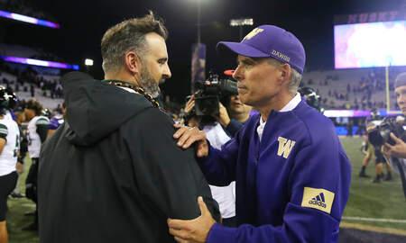 Northwest News - New Washington State Head Football Coach Already Focused On Apple Cup
