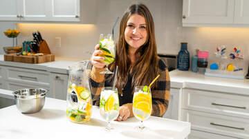 Ryan Seacrest - Sisanie Tests Out Making Slimming Detox Water! Watch