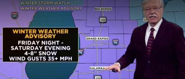 """Weekend Storm To Bring 4-8"""" of Heavy Snow Friday Night Into Saturday"""