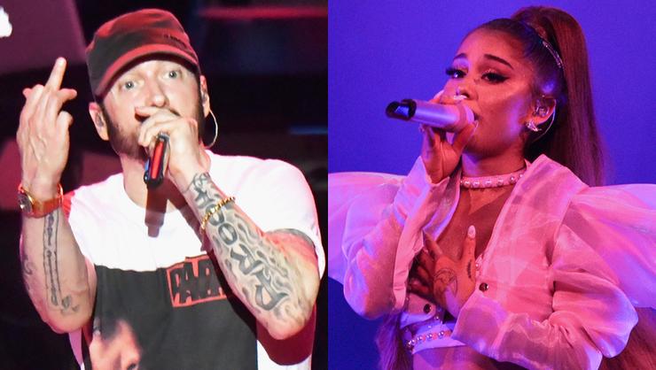 Eminem Slammed For Lyrics About Ariana Grande Manchester Concert Bombing   iHeartRadio