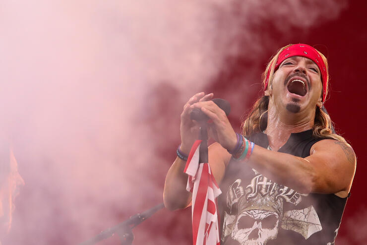 Poison's Bret Michaels Reveals Skin Cancer, Torn Rotator Cuff Diagnoses | iHeartRadio