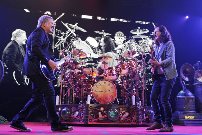 Rush In Concert At BB&T Center