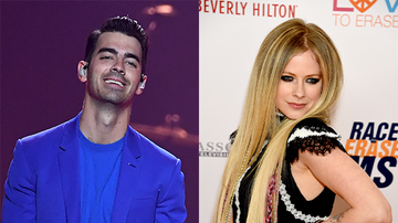 Elvis Duran - Joe Jonas Admits He's Afraid Of Avril Lavigne