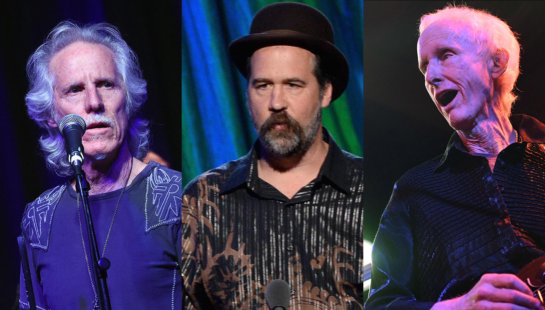 Surviving Members Of The Doors Prepare Set With Nirvana's Krist Novoselic