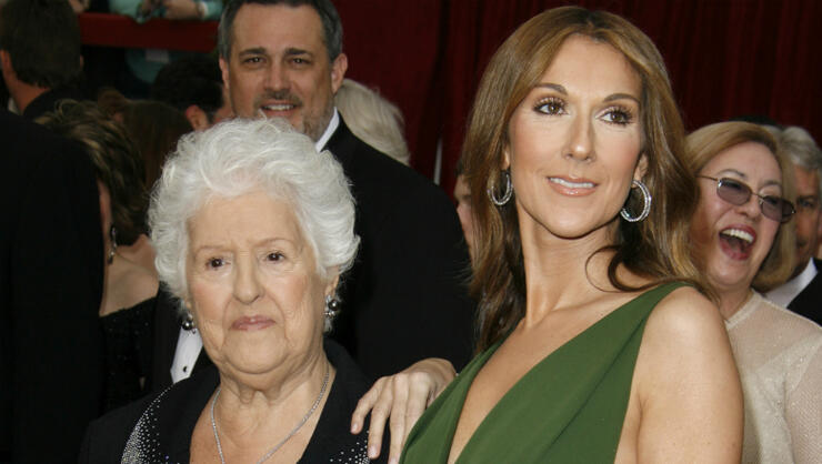 Celine Dion's Mother, Therese, Dead At 92   iHeartRadio