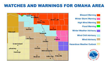 1110 KFAB Local News - High winds, bitter cold in Omaha area this weekend WEATHER MAPS
