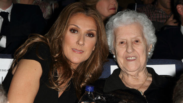 Celine Dion Speaks Out At Concert One Day After Her Mother's Death | iHeartRadio