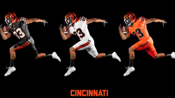 Lance McAlister - Check out this gallery of new uniform design ideas for Bengals