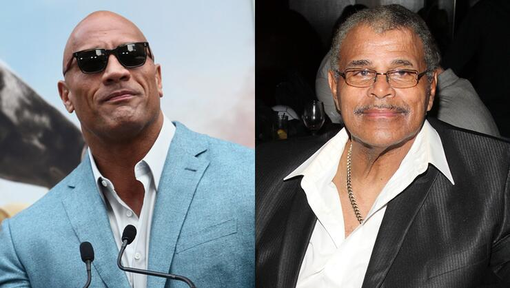 Dwayne 'The Rock' Johnson Breaks His Silence On Father's Death | iHeartRadio