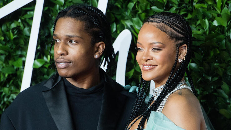 Rihanna Spotted With A$AP Rocky After Splitting With Hassan Jameel | iHeartRadio