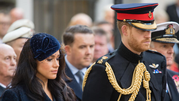 Members Of The Royal Family Attend The 91st Field Of Remembrance At Westminster Abbey