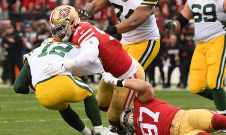 Packers - 49ers bury Packers 37-20 in NFC Championship Game