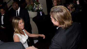 Wendy Wild - People Are Living For This Jennifer Aniston/Brad Pitt Reunion!
