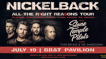 image for Nickelback: All The Right Reasons Tour