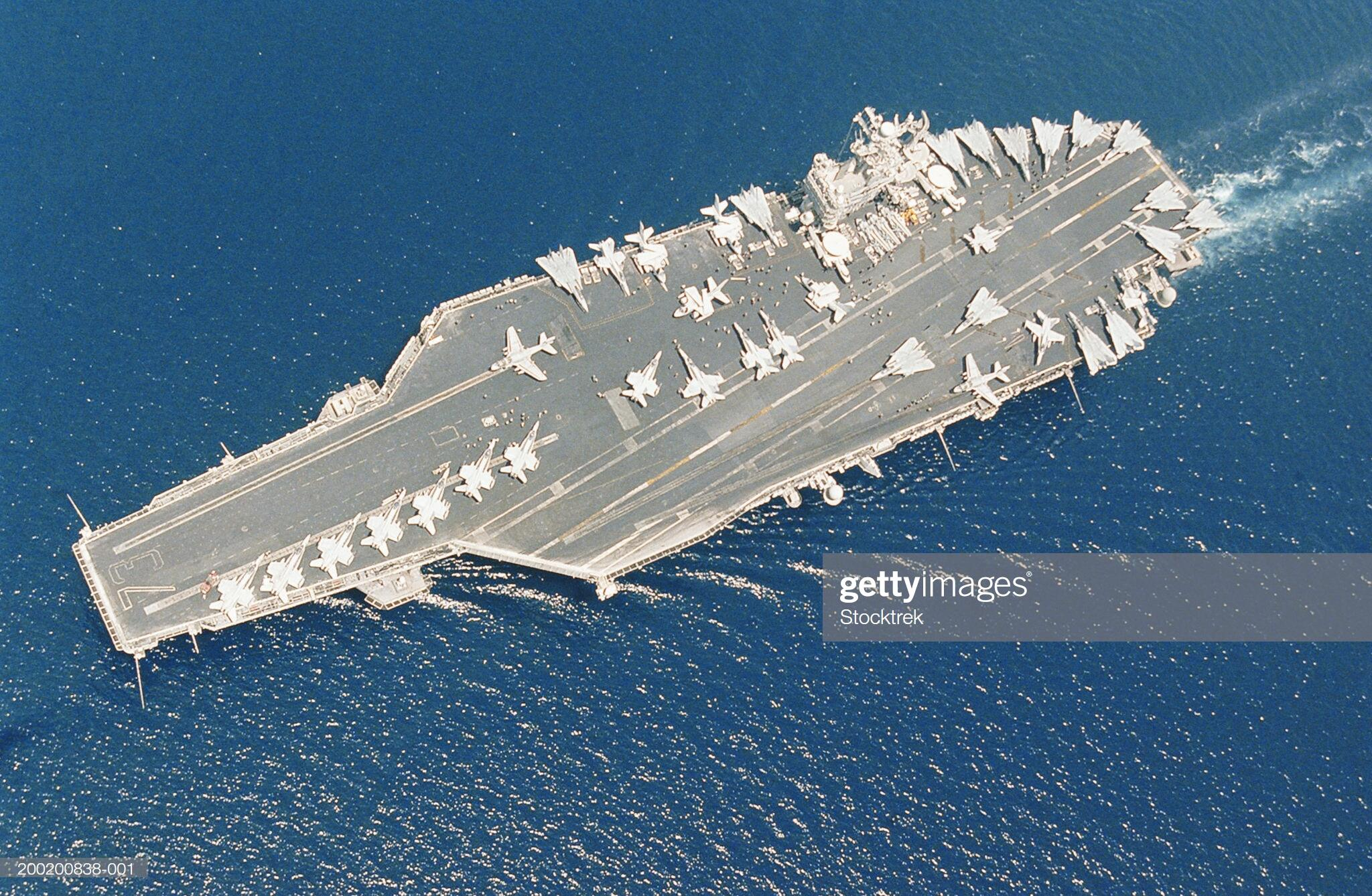 The USS Doris Miller, America's Newest Commissioned Aircraft Carrier.